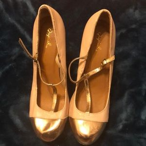 Fun heels with platform!